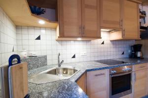 Küche/Küchenzeile in der Unterkunft Sonnenheimhof