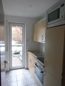 Küche/Küchenzeile in der Unterkunft Ferienwohnung Wehr