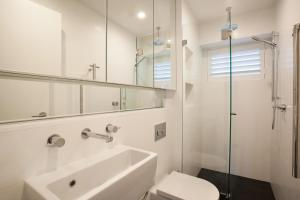 A bathroom at Bronte By Design - A Bondi Beach Holiday Home