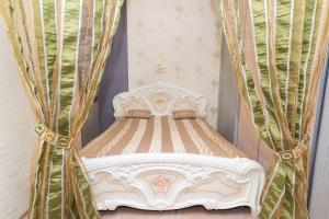 Кровать или кровати в номере Домашний Уют на Попова, рядом Екатеринбург-Арена,Алатырь