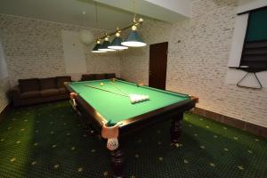 A pool table at European Guest House