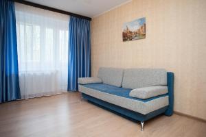 Гостиная зона в Апартаменты Moskva4you Новокузнецкая