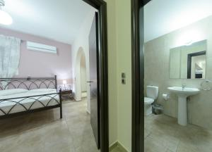 A bathroom at Corali Beach