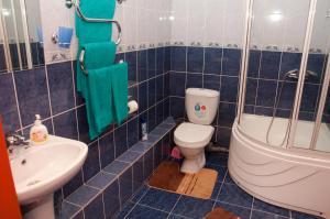 Ванная комната в Гостиница Колибри