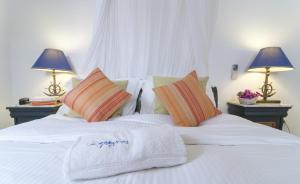 Ένα ή περισσότερα κρεβάτια σε δωμάτιο στο Ζέφυρος