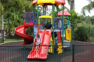Children's play area at Brisbane Gateway Resort