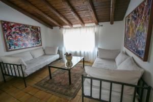 A seating area at Alla Giudecca