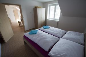A bed or beds in a room at Vila Aneta