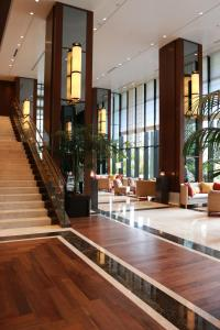 The lobby or reception area at Hyatt Regency Naha, Okinawa
