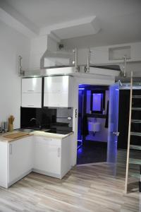 Kuchnia lub aneks kuchenny w obiekcie Merida Apartament
