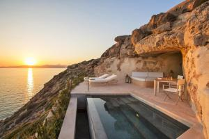 The swimming pool at or near Cap Rocat, a Small Luxury Hotel of the World