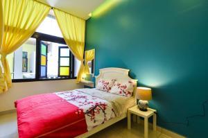 Katil atau katil-katil dalam bilik di The Egerton Melaka