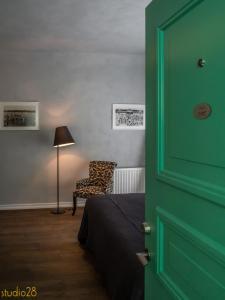 Istumisnurk majutusasutuses Studio28 Boutique Rooms