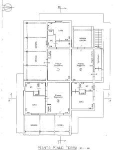 Planimetria di Casa Badia