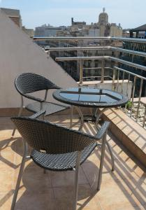 A balcony or terrace at Serennia Exclusive Rooms
