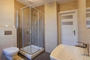 Łazienka w obiekcie Apartamenty Angielska Grobla