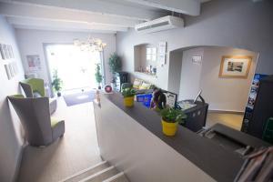 The lobby or reception area at Interhotel Cassitel