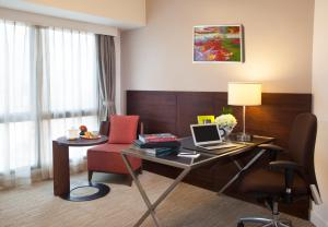 A television and/or entertainment center at Somerset Grand Hanoi
