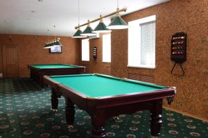 A pool table at Okolytsia