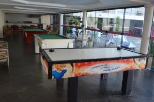 Mesa de bilhar em Hotel São Luiz