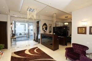 Ο χώρος του λόμπι ή της ρεσεψιόν στο Dellagio Hotel