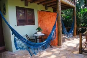 A porch or other outdoor area at Recanto Tangará