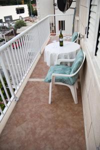 A balcony or terrace at Villa Magnolija
