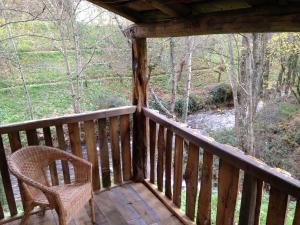 Uma varanda ou terraço em Casa Rural Doiras