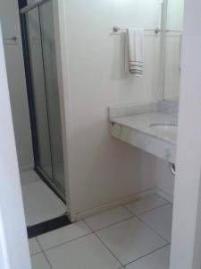 A bathroom at Itacaiúnas Hotel
