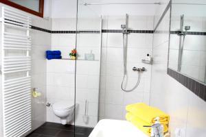 A bathroom at Schwarzwald-Pension Fechtig