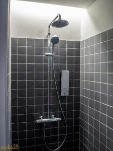 A bathroom at Studio28 Boutique Rooms