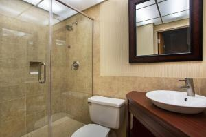 A bathroom at Crowne Plaza Hotel Knoxville, an IHG hotel