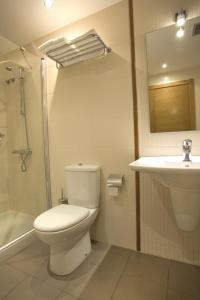 A bathroom at Hotel Mar de Plata