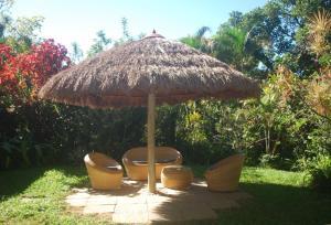 Um jardim em Hotel Eco Sítio Nosso Paraíso