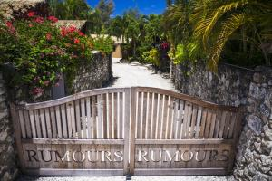 A balcony or terrace at Rumours Luxury Villas & Spa