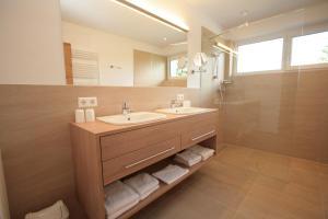 Ein Badezimmer in der Unterkunft Aktiv & Sport Apartments Oberjörg