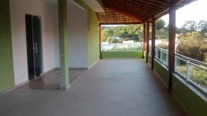 Uma varanda ou terraço em Canarios Hostel