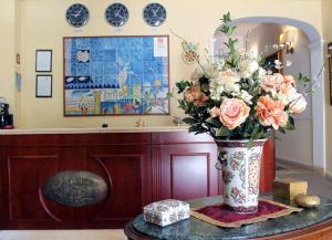Hall o reception di D'Angelo Palace Hotel