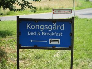 Logoet eller skiltet for bed & breakfast-stedet