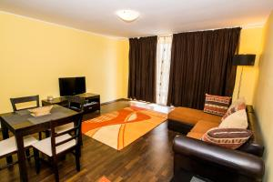 O zonă de relaxare la Apartamente Coralia Mamaia