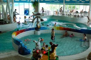 Het zwembad bij of vlak bij Roompot Residence Wijngaerde