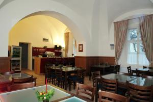 Restaurace v ubytování Zámek Křtiny