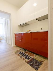 A kitchen or kitchenette at Le Dimore del Conte