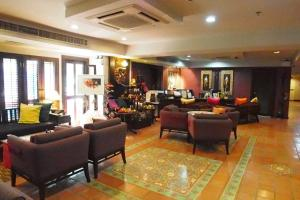 The lobby or reception area at The Siam Heritage Hotel