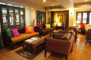 A seating area at The Siam Heritage Hotel