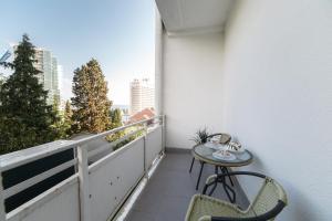 Балкон или терраса в Морские Апартаменты