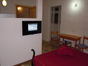A television and/or entertainment center at Number 20