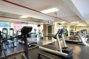 The fitness center and/or fitness facilities at Marriott Tijuana Hotel