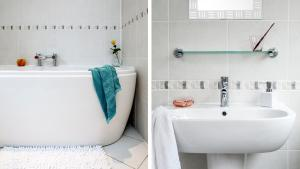 A bathroom at Fernlea Garden 3
