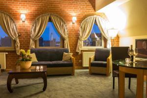 Część wypoczynkowa w obiekcie Hotel Królewski